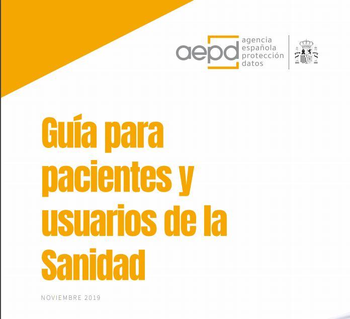 Il Garante Spagnolo pubblica una guida sui diritti di protezione dei dati dei pazienti.