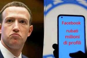 Facebook rubati milioni di profili italiani: perché dobbiamo